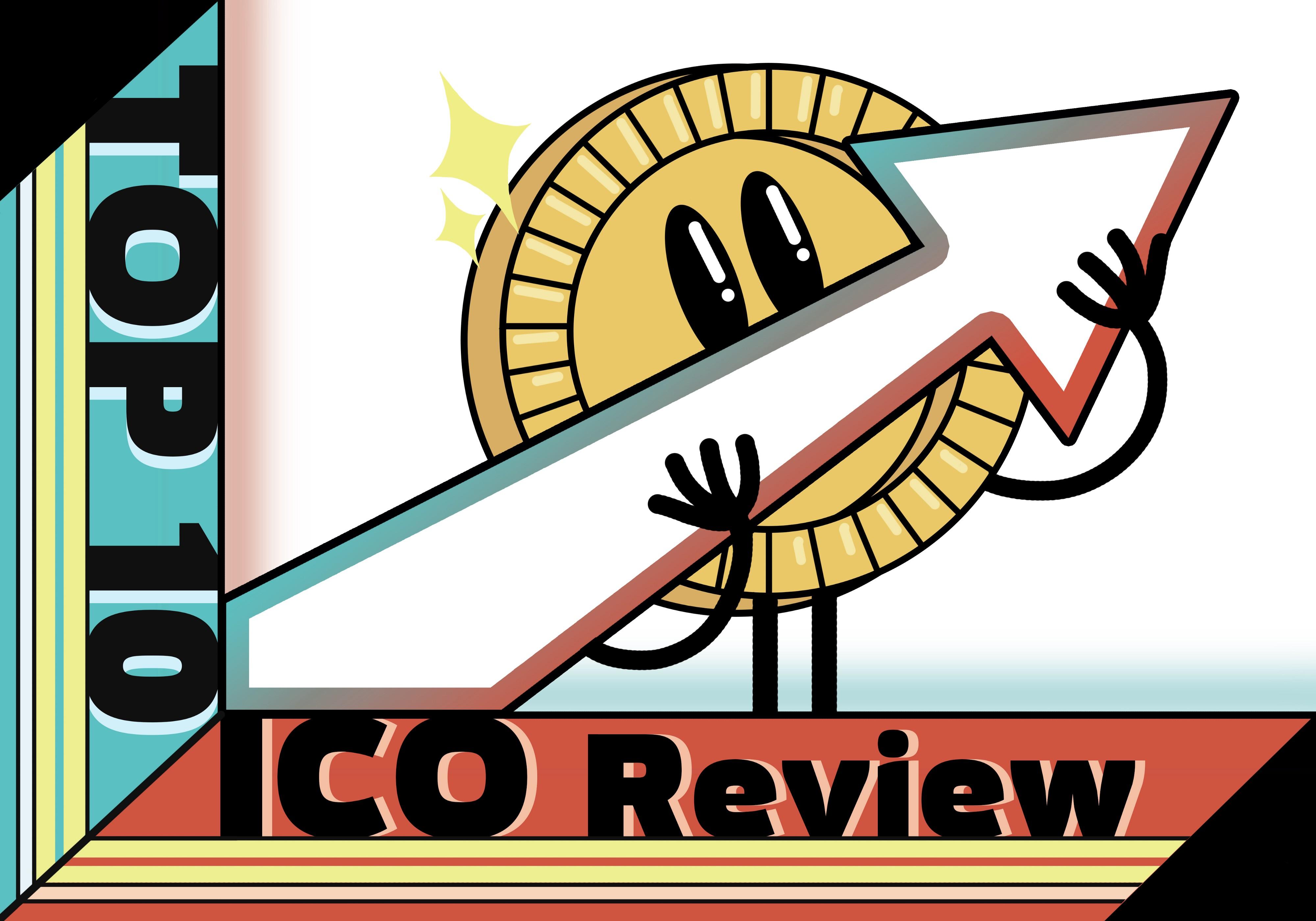 Top 10 Liste Erfolgreicher ICO.