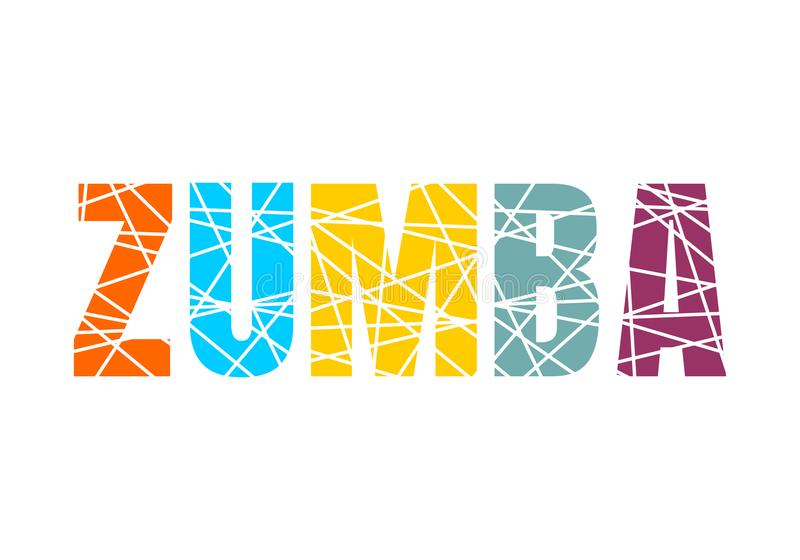 Zumba Stock Illustrations.