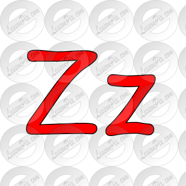 Zz Picture for Classroom / Therapy Use.