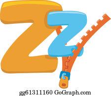 Z Is For Zipper Clip Art.