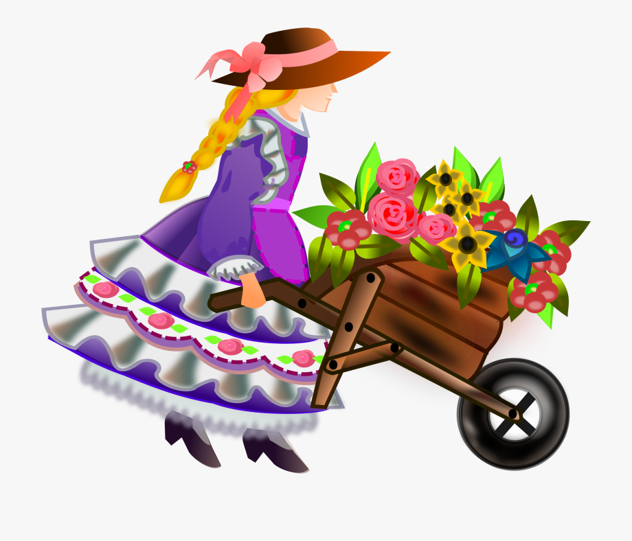 Clipart Library Stock With Flowers Big Image.
