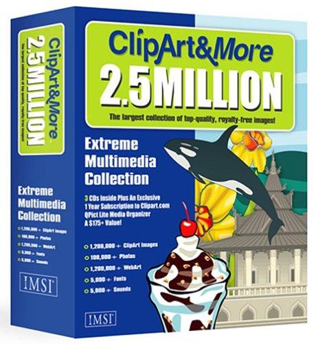 Clipart & More 2.5 Million (Mac).