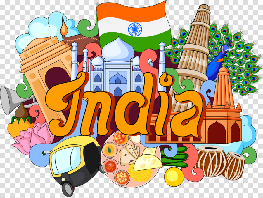 India Food Background clipart.