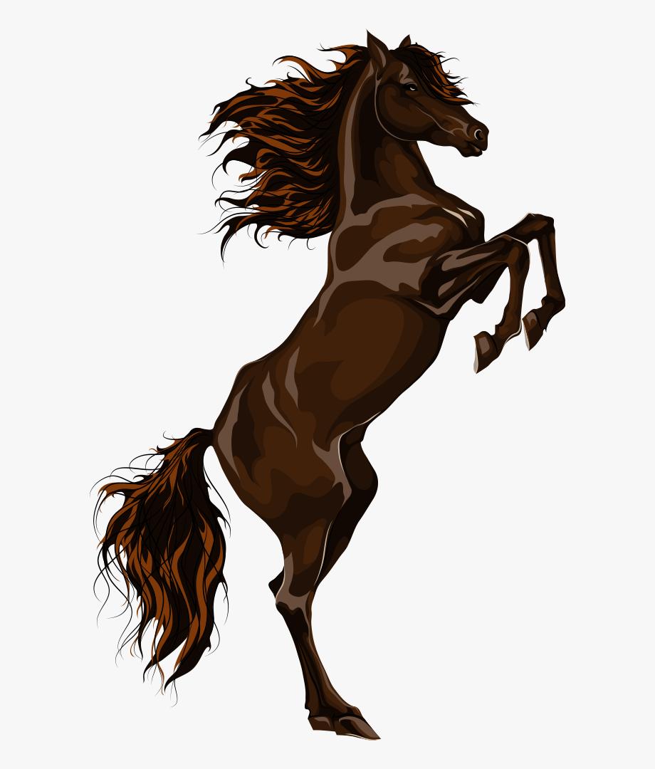Horses Clipart Vector.