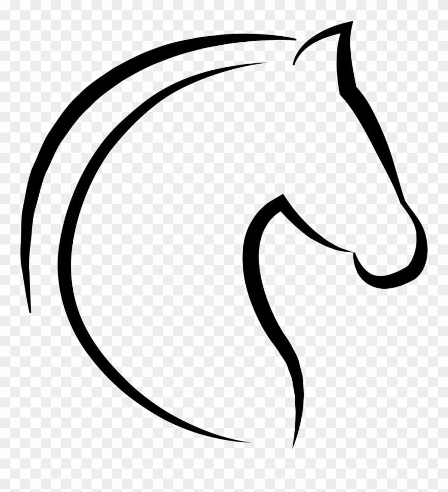 Horse Head Icon.