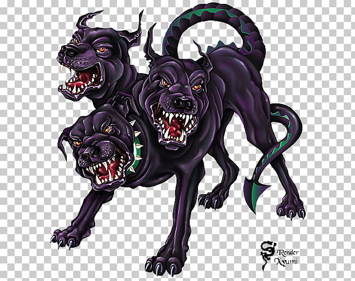 Hades Zeus Cerberus Greek mythology Hellhound, others PNG.