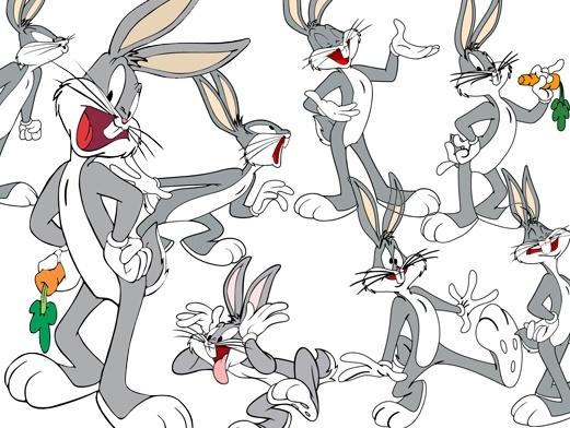 Disney cartoon clip art collection Free vector in Encapsulated.