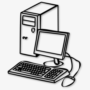 Free Desktop Computer Clipart Cliparts, Silhouettes, Cartoons Free.