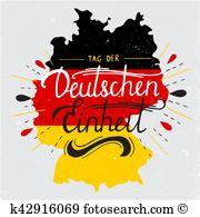 Tag der deutschen einheit Clipart Vector Graphics. 13 tag der.