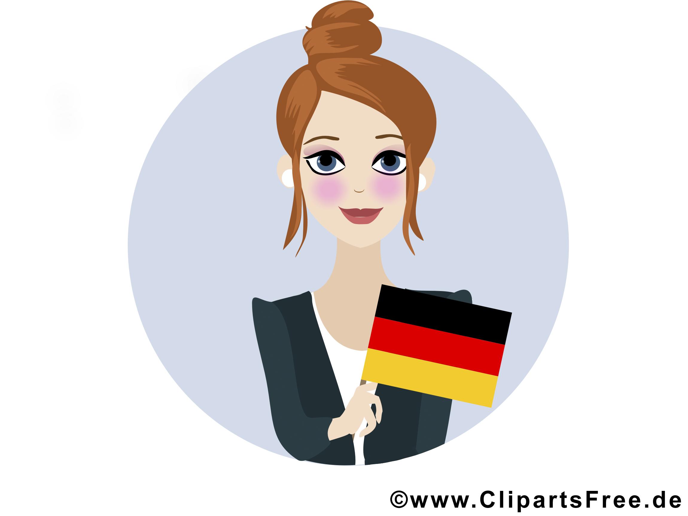 Tag der deutschen Einheit Feiertag Bild, Plakat, Clipart.
