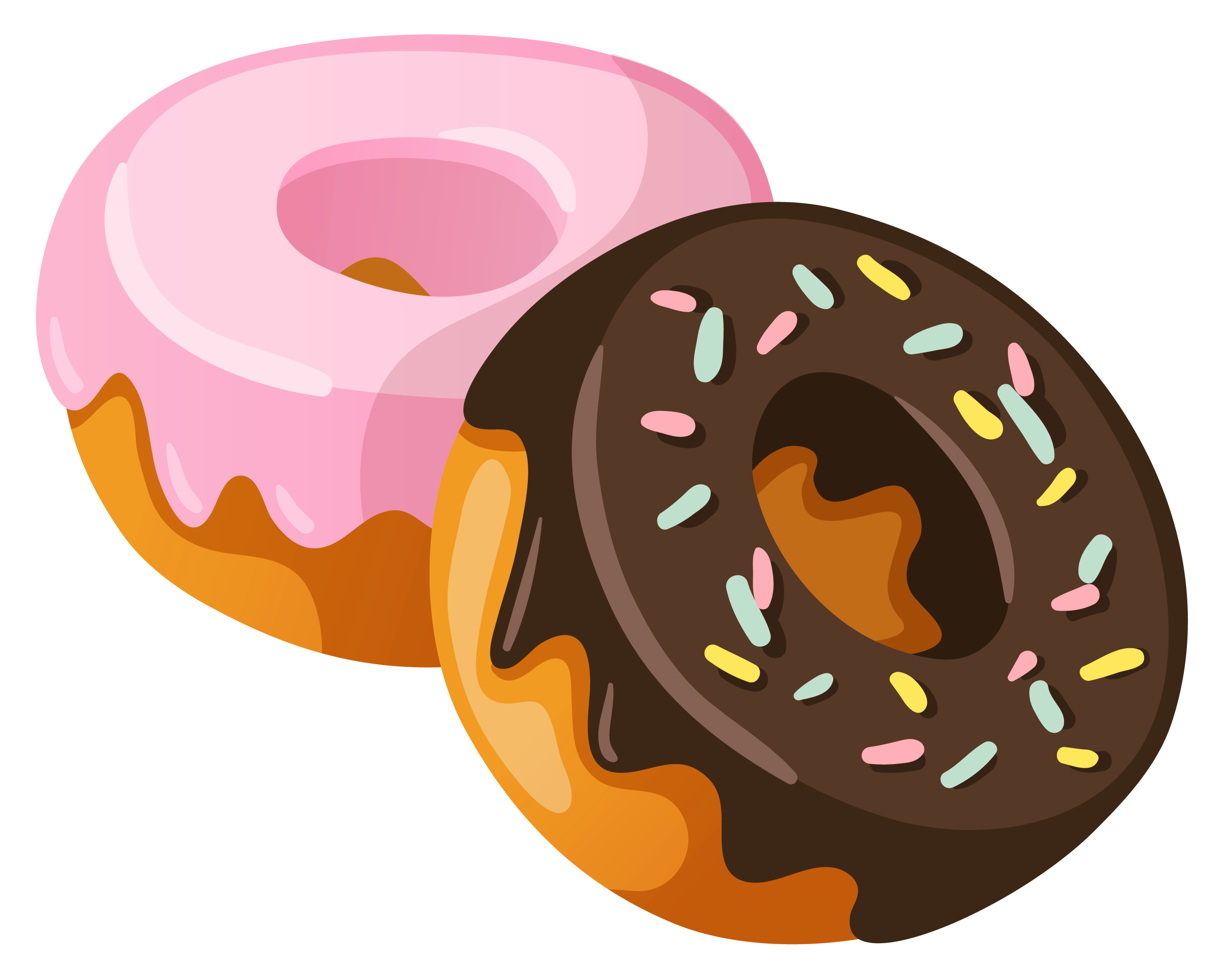 Donuts PNG Clipart Picture.