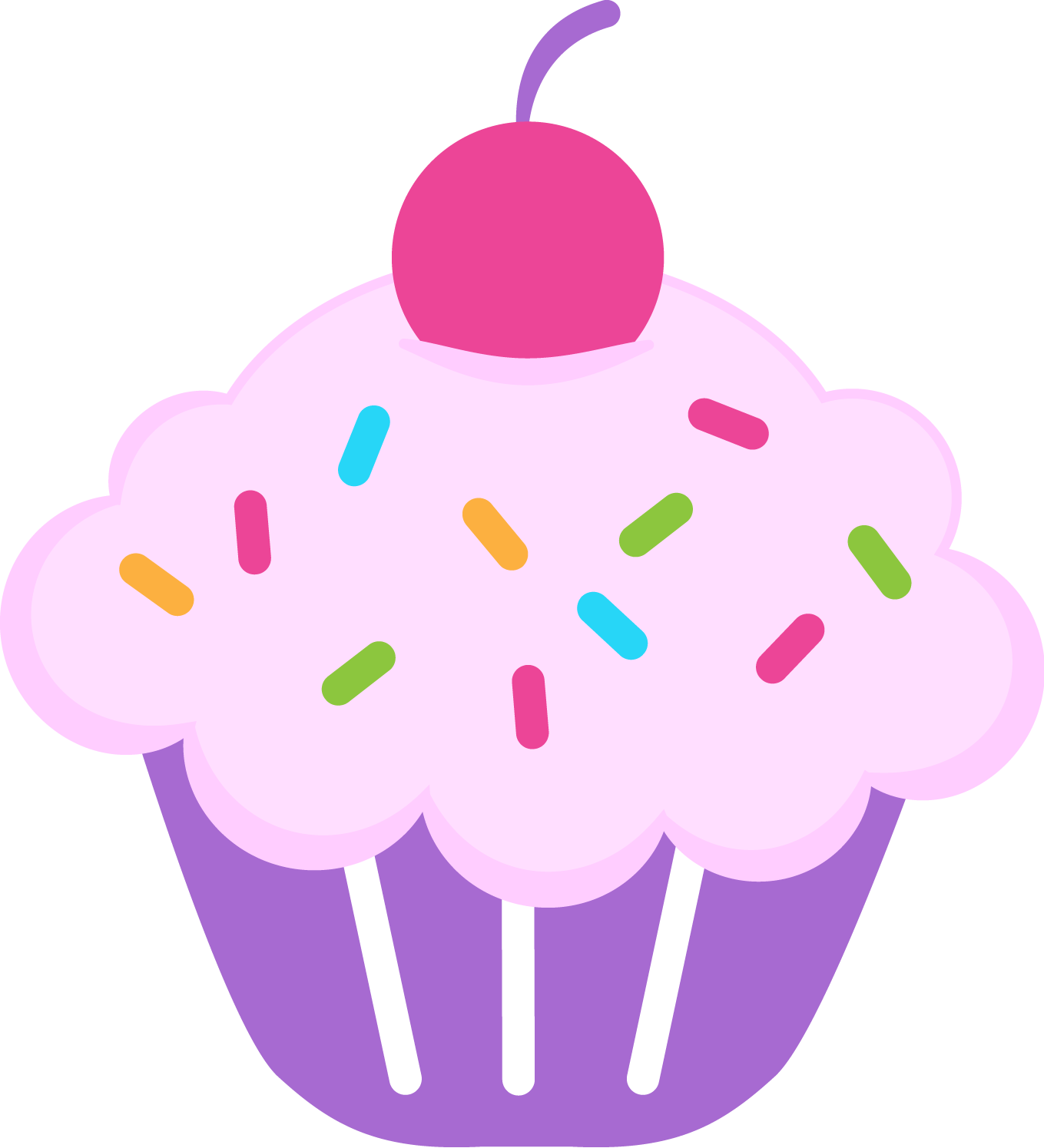 Lovely Girls: Cupcakes em PNG.