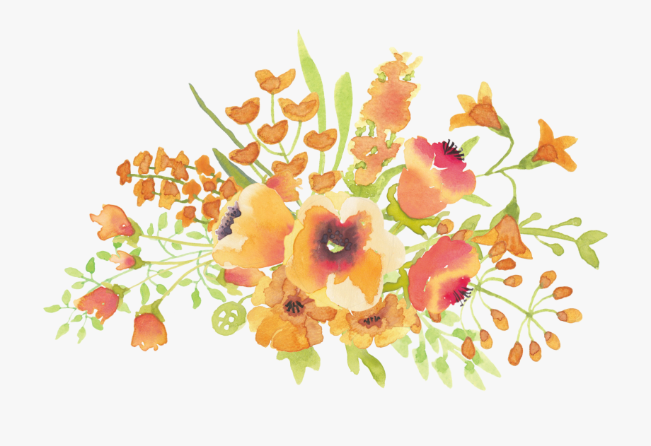 Beautiful Flower Clipart.