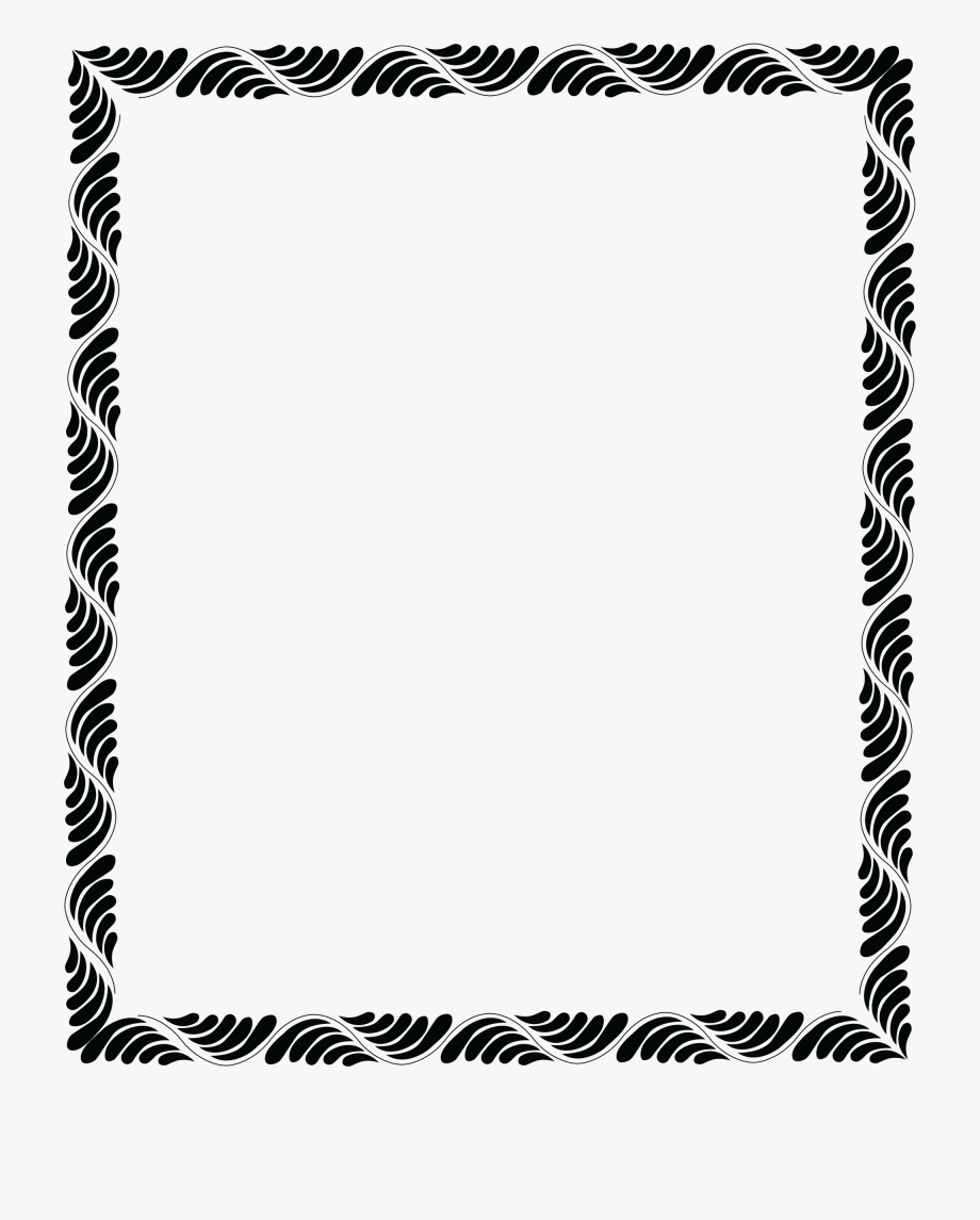Masculine Borders And Frames.