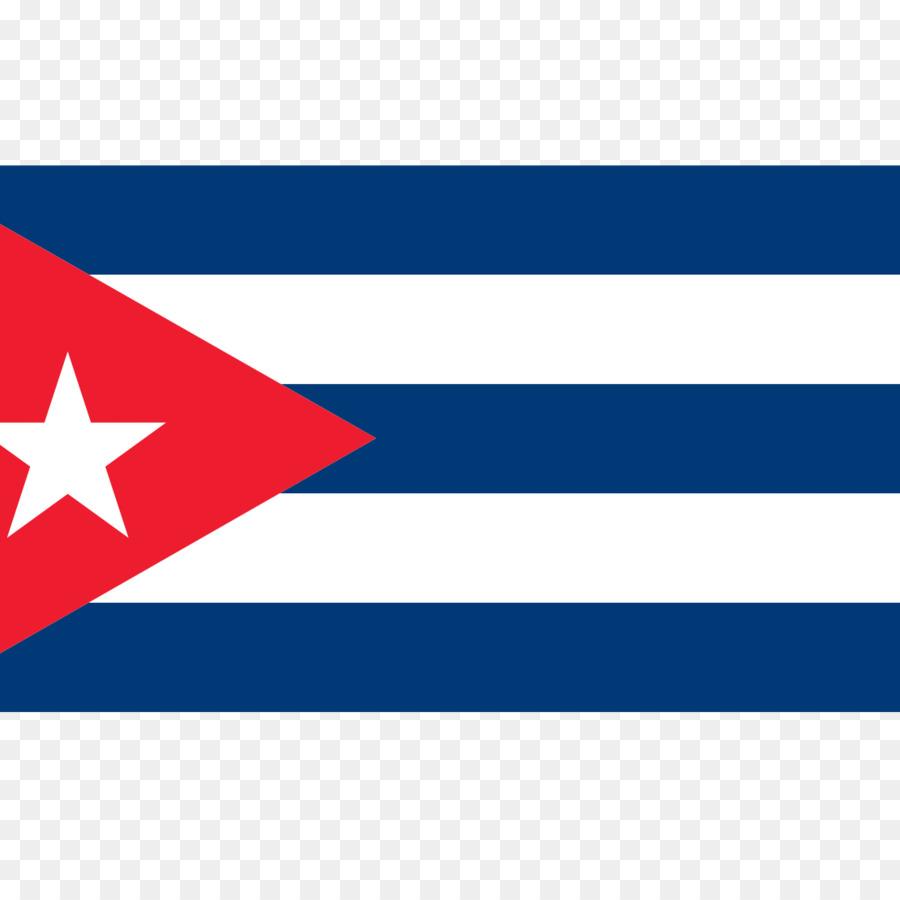 Flagge von Kuba.