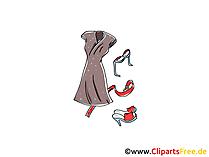 Mode Bilder, Cliparts, Cartoons, Grafiken, Illustrationen, Gifs.