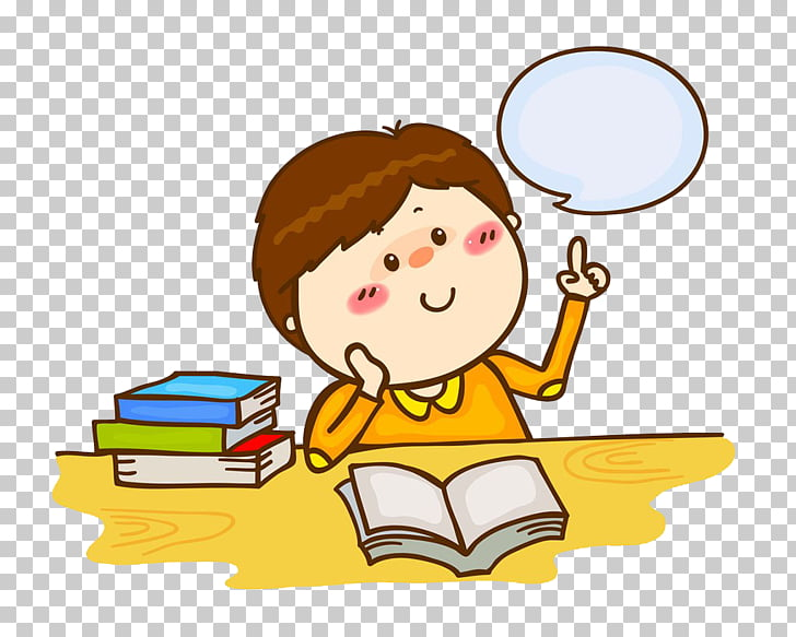 Stock photography , Children read thinking, boy graphic PNG.