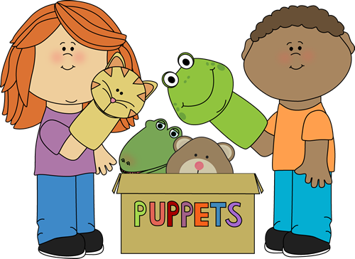 Puppet cliparts.