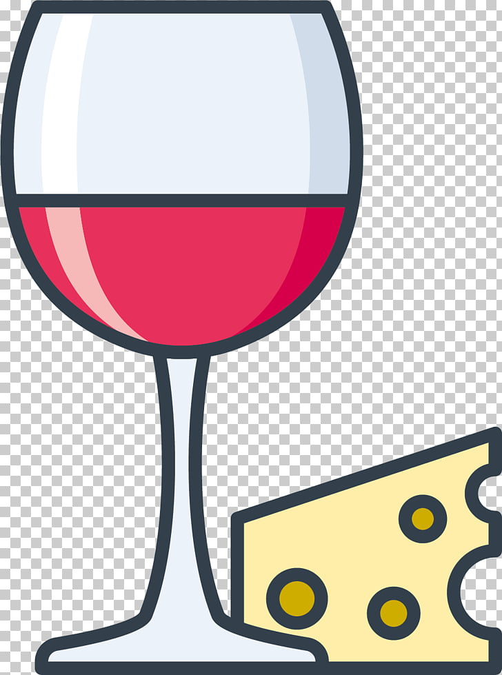Red Wine Rosxe9 Wine glass , Cheese PNG clipart.