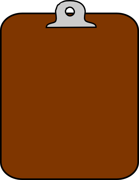 Clipboard Clipart.