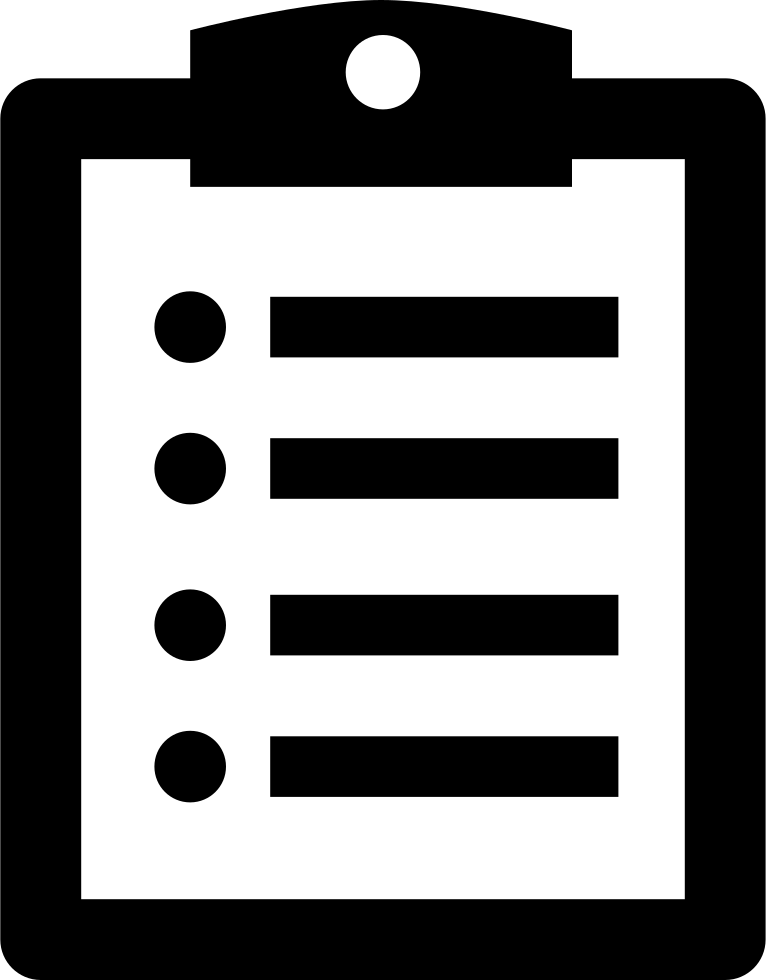 Note On A Clipboard Svg Png Icon Free Download (#16158.
