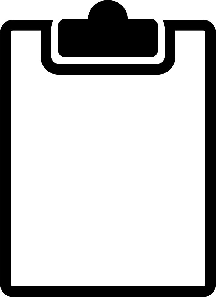 Clipboard Svg Png Icon Free Download (#46551).