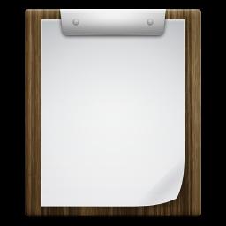 Files Clipboard Icon.