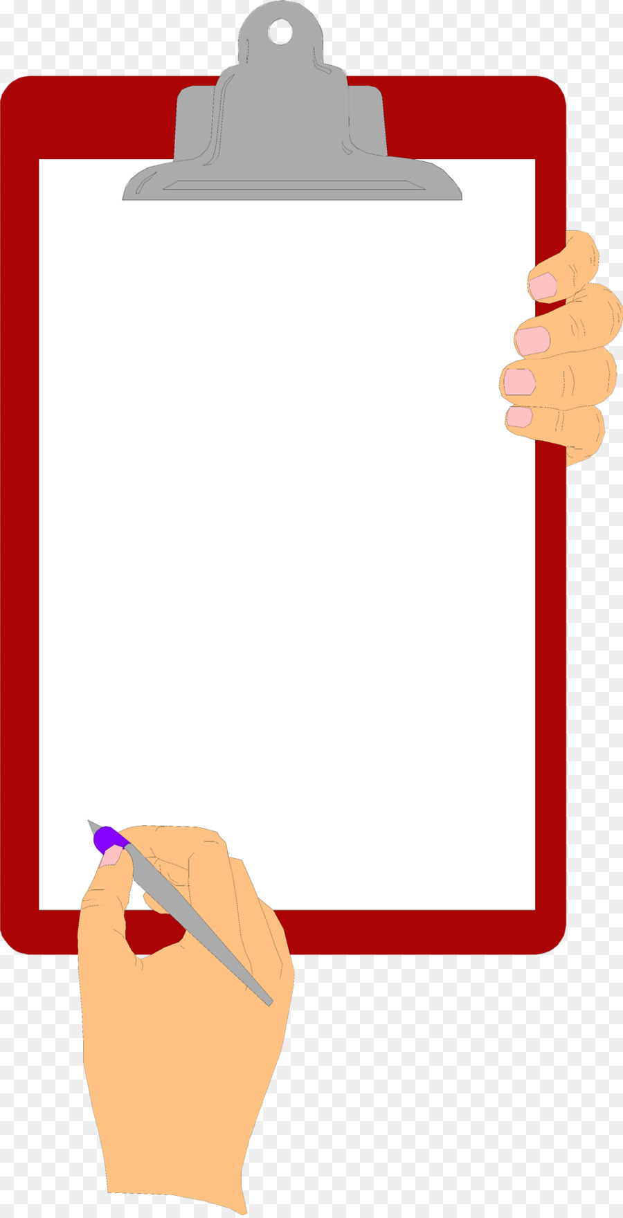 Clipboard Angle png download.