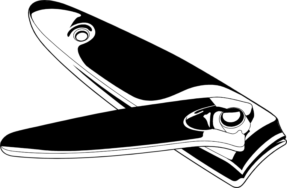 Nail clipper clip art.