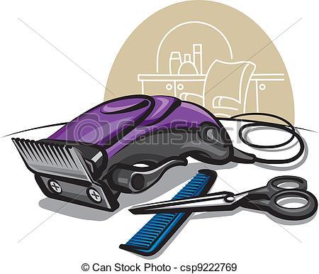 Hair clipper Clip Art Vector and Illustration. 430 Hair clipper.
