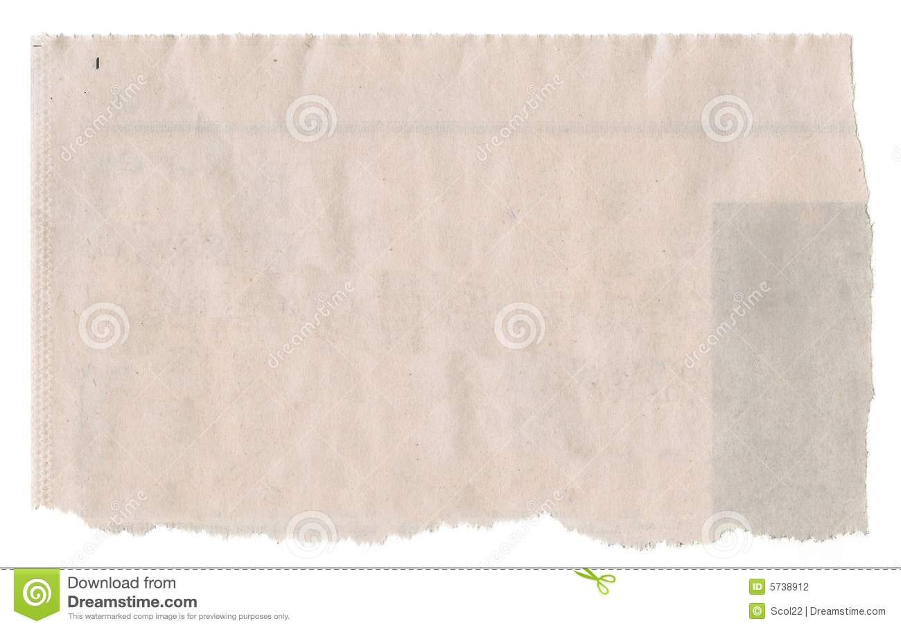 Newspaper clipping clipart.