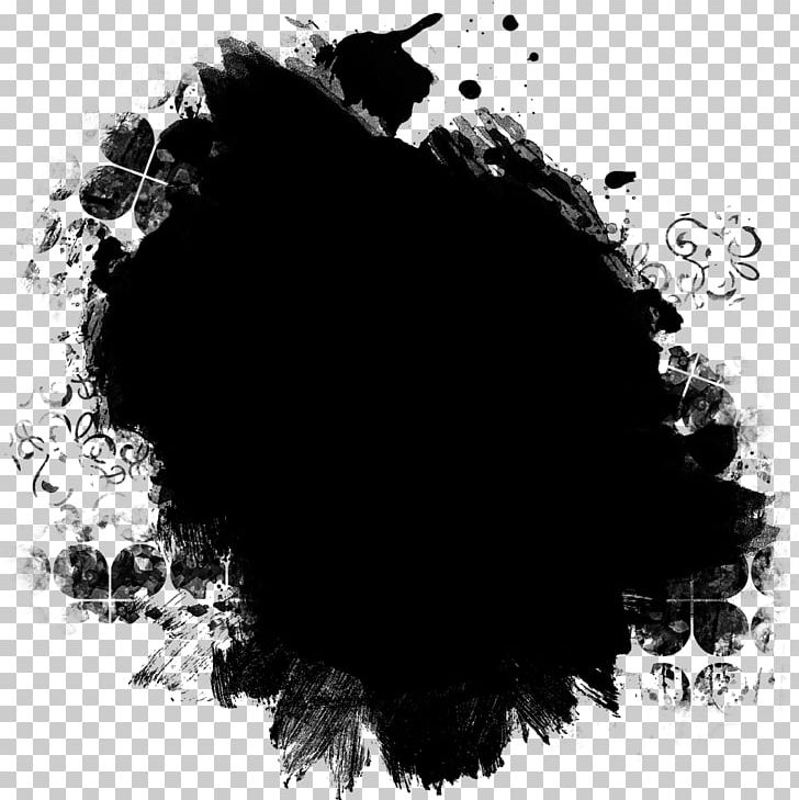 Pretty Black Ink Clipping Masks PNG, Clipart, Background.