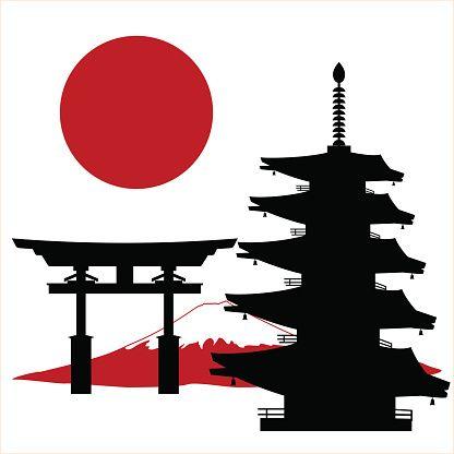 Meiji Jingu Shrine Clip Art, Vector Images & Illustrations.