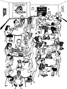 Free school cafeteria clipart.