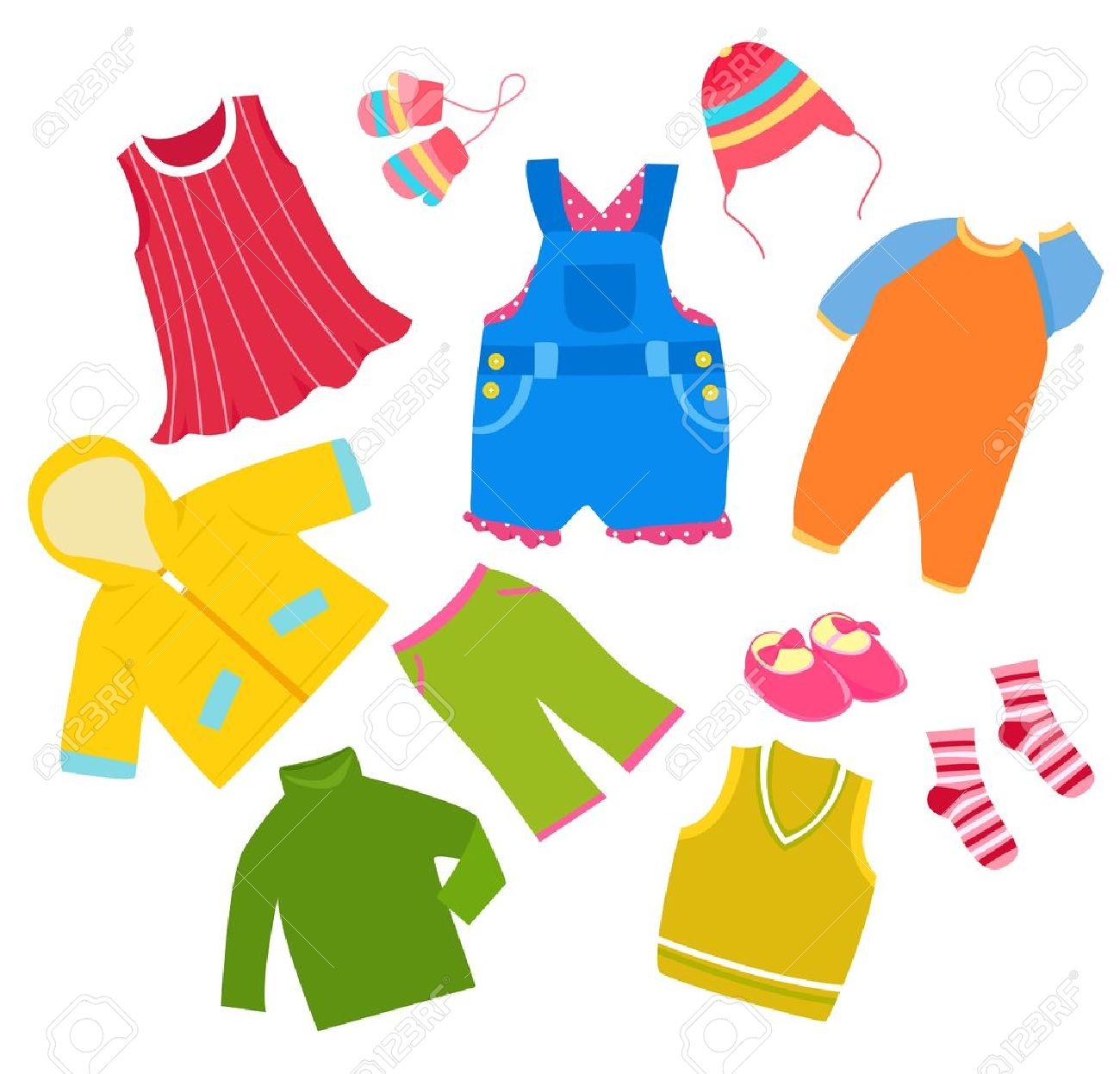 Kids clothes clipart 7 » Clipart Station.