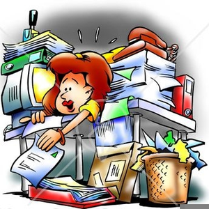 Free Clutter Clipart.