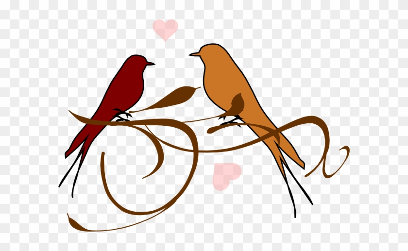 Fall Love Birds Clip Art At Clker.