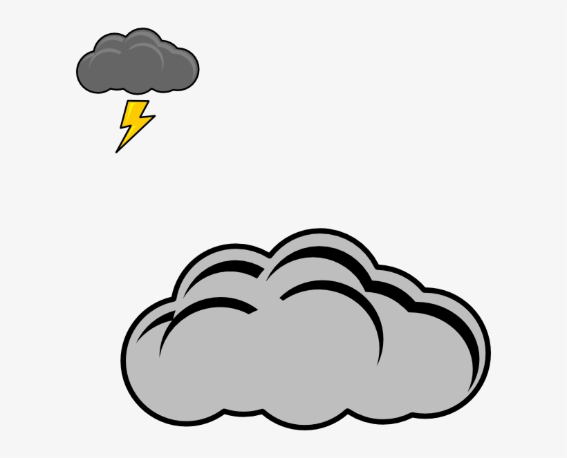 Thunder Clip Art At Clker Com Vector.
