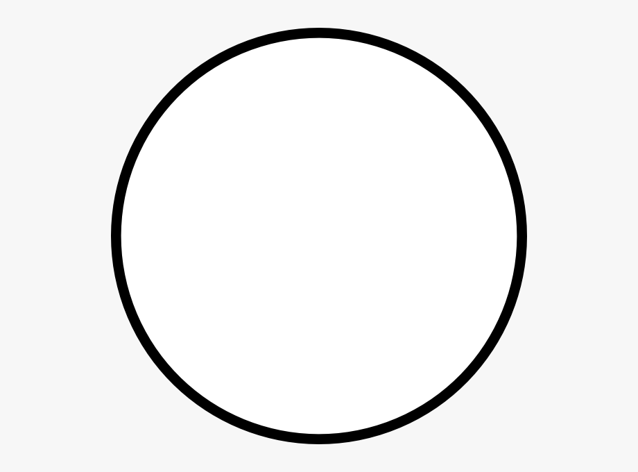 White Round Clip Art At Clker Com Vector Clip Art Online.