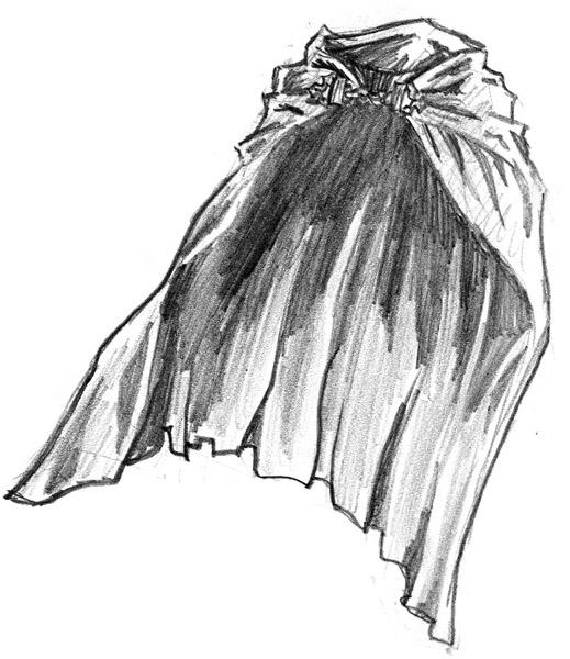 Cloak clip art.