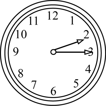 Clock black and white clipart 1 » Clipart Station.