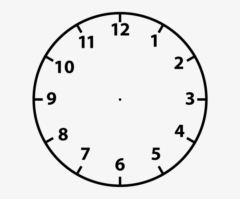 Clip Freeuse Stock Black And White Clipart Clock.