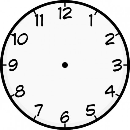 Clocks clipart #5