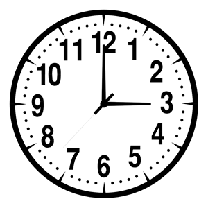 Clock Clipart Black And White Png Clipground