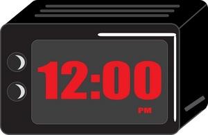Alarm Clock Clipart Image.