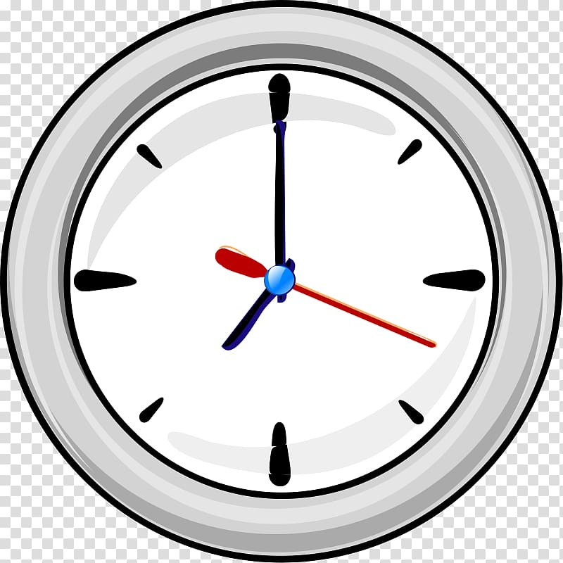 Digital clock , Wall Clock transparent background PNG.