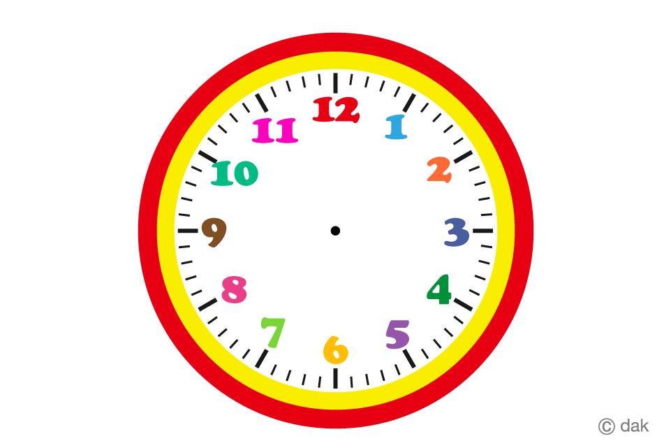 Clock No Hands Free Picture|Illustoon.