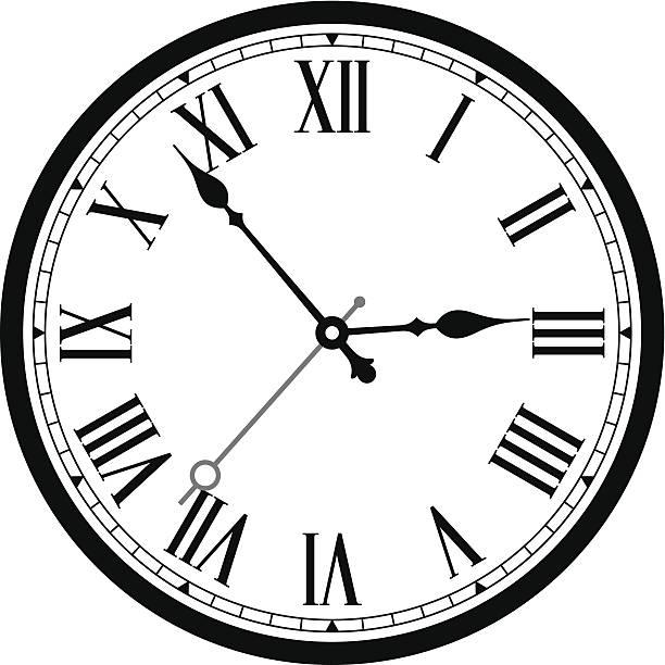 Clock Vector Clipart.
