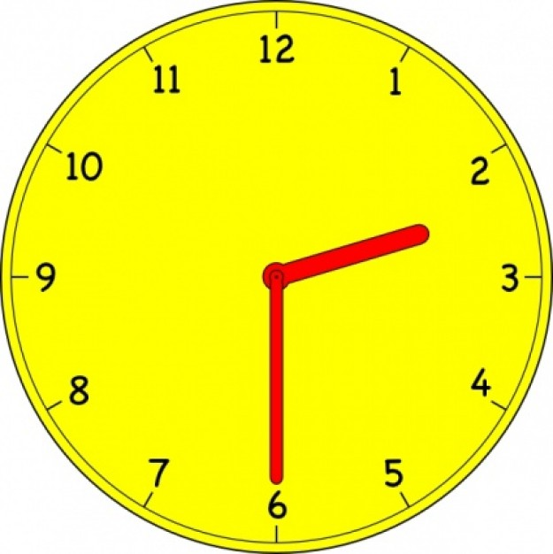 Clock Clip Art Without Hands.