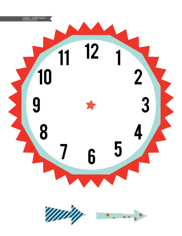 Free Clipart Clock Without Hands.